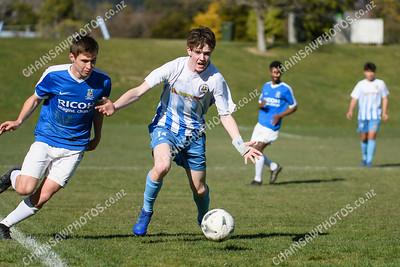 2 August 2020 Western Suburbs U17 Black v KCU Under 17 Football / soccer Endeavour Park Porirua