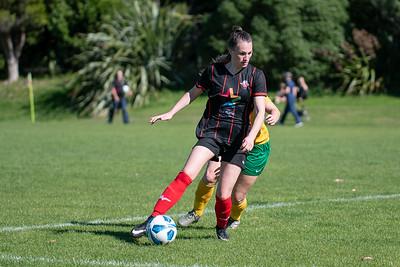 18 April 2021 Western Suburbs v Victoria University Women's 2 Captial Football / soccer