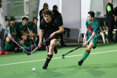 25 September 2020 Wellington College v Onslow College Sporting Edge SPHL P1 Boys final National Hockey Stadium, Wellington