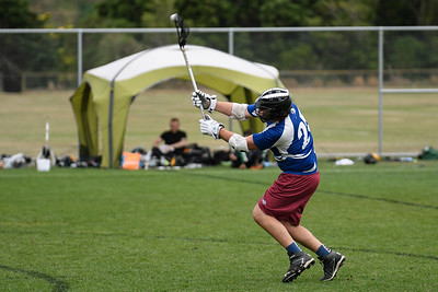 NZ Men's National Lacrosse tournament at Martin Luckie Park, Wellington. Auckland v Waikato