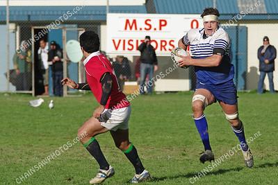 19 April 2008 Northern United v Marist St Pats (MSP) Wellington club rugby Evans Bay Park