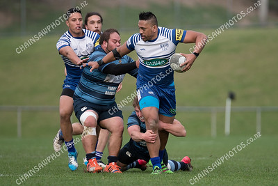 Northern United v Johnsonville, Harham Cup rugby. More photos at www.chainsawphotos.co.nz