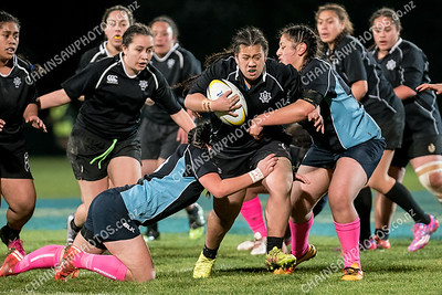 17 August 2016. St Marys College v Aotea College. Wellington school girls rugby final.