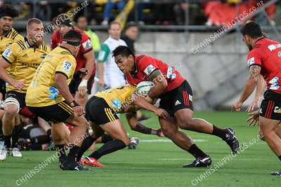 10 March 2018 Hurricanes v Crusaders Super rugby competition Westpac Stadium, Wellington
