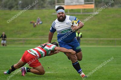 24 March 2018 Northern United v Hutt old Boys Marist (HOBM) Wellington Premier Club Rugby Jerry Collins Stadium, Porirua Park