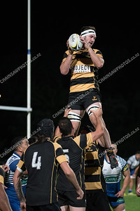 29 March 2018 Northern United v Wellington Wellington Premier Club Rugby Jerry Collins Stadium, Porirua Park