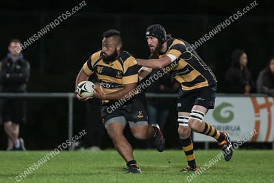 29 March 2018 Northern United v Wellington Wellington Premier Club Rugby Jerry Collins Stadium, Porirua Park