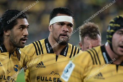 13 April 2018 Hurricanes v Chiefs Super rugby competition Westpac Stadium, Wellington