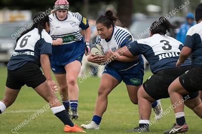 14 April 2018 Northern United v Petone Women Wellington Women's club rugby Rebecca Liua'ana Trophy Ngati Toa Domain, Porirua