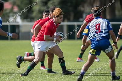 14 April 2018 Northern United v Marist St Pats colts Wellington club rugby union Jerry Collins Stadium, Porirua Park