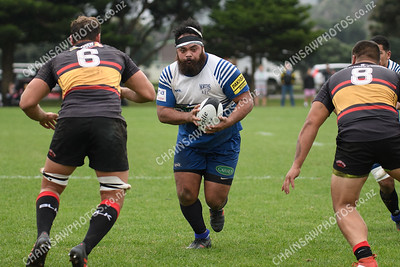 28 April 2018 Norths v Paremata Plimmerton Wellington Premier club rugby Ngati Toa Domain, Porirua