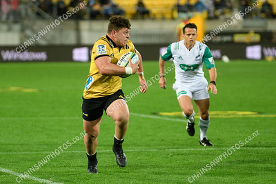 05 May 2018 Hurricanes v Lions Super rugby competition Westpac Stadium, Wellington