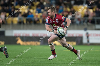 18 May 2018 Hurricanes v Reds Super rugby competition Westpac Stadium, Wellington