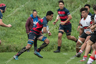 19 May 2018 Scots College v Hastings Boys High School Tranzit Coachlines Hurricanes 1st XV festival Jerry Collins Stadium, Porirua Park