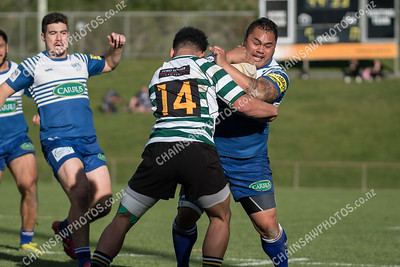 26 May 2018 Northern United v Old Boys University (OBU) Wellington club rugby union Jerry Collins Stadium, Porirua Park