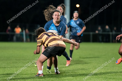 30 May 2018 Porirua College v Aotea College girls Wellington school girls rugby Jerry Collins Stadium, Porirua Park