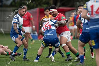 16 June 2018 Northern United v Marist St Pats Premier Reserve Wellington club rugby Ed Chaney Cup Evans Bay Park