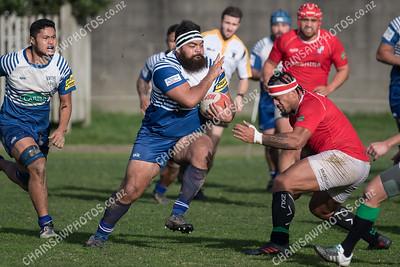 16 June 2018 Norths v Marist St Pats (MSP) Wellington club rugby Jubilee Cup Premier Evans Bay Park