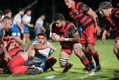 20 June 2018 Norths v Poneke Wellington club rugby Jerry Collins Stadium, Porirua Park