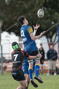 23 June 2018 Kapiti College v St Bernards College Wellington Premiership school boys rugby at Kapiti College
