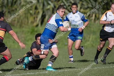 30 June 2018 Northern United v Paremata-Plimmerton Colts Wellington club Colts rugby Porirua Park