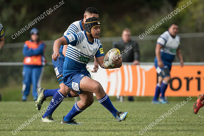 30 June 2018 Norths v Hutt Old Boys Marist (HOBM) Wellington Premier club rugby Jerry Collins Stadium, Porirua Park