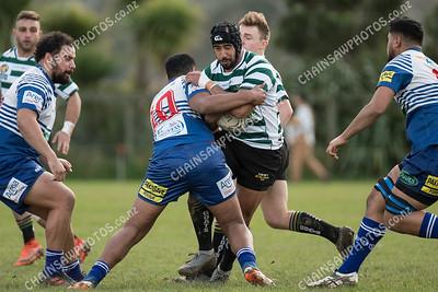 21 July 2018 Northern United v Old Boys University (OBU) Wellington Club rugby Jubilee cup final round Nairnville Park, Johnsonville, Wellington