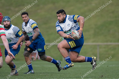 28 July 2018 Northern United v Hutt Old Boys Marist Wellington club rugby Jubilee Cup semi-final Jerry Collins Stadium, Porirua Park