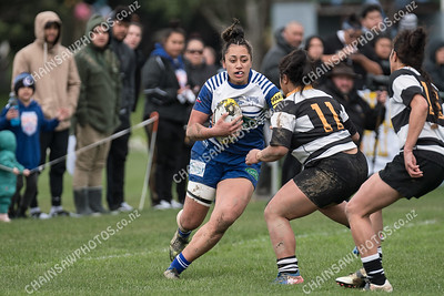04 August 2018 Norths v Oriental Rongotai Wellington womens club rugby final Tia Paasi Memorial Cup Petone Recreation Ground
