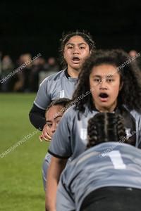15 August 2018 St Mary's v Porirua College Wellington school girls Premier final Jerry Collins Stadium, Porirua Park