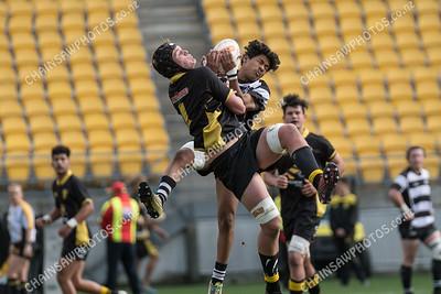 19 August 2018 Wellington v Hawke's Bay Under 19 Representative rugby Westpac Stadium, Wellington