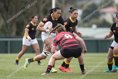 8 September 2018 Wellington Pride v Canterbury Farah Palmer Cup npc Jerry Collins Stadium, Porirua