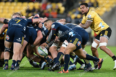 08 March 2019 Hurricanes v Highlanders Super rugby competition Westpac Stadium, Wellington