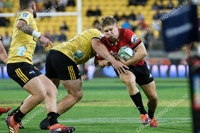 29 March 2019 Hurricanes v Crusaders Super rugby competition Westpac Stadium, Wellington