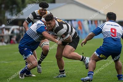 27 April 2019 Northern United v Oriental Rongotai Wellington Premier club rugby Jerry Collins Stadium, Porirua Park
