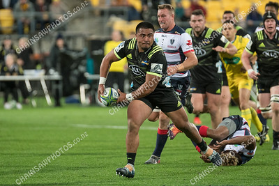 04 May 2019 Hurricanes v Rebels Super rugby competition Westpac Stadium, Wellington