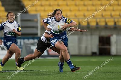17 May 2019 Norths v Ories women Premier Women Wellington club rugby Westpac Stadium, Wellington