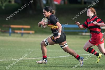 08 June 2019 Paremata Plimmerton v Poneke women Wellington womens' club rugby Ngati Toa Domain