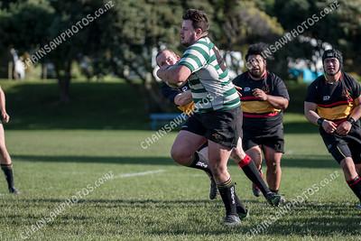08 June 2019 Paremata Plimmerton v Old Boys University Premier Reserve Wellington club rugby Ngati Toa Domain, Porirua