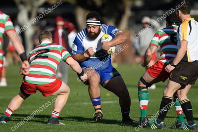 29 June 2019 Norths v HOBM Premier Wellington Club Rugby Hutt Recreation Ground