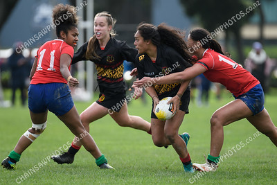 27 July 2019 Paremata-Plimmerton v Marist St Pats (MSP) Wellington women's club rugby Izzy Ford Cup final Petone Recreation Ground