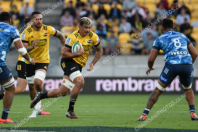 29 March 2019 Hurricanes v Blues Super rugby competition Sky Stadium, Wellington