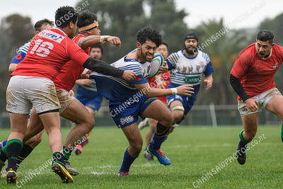 20 June 2020 Northern United v Marist St Pats (MSP) Premier Reserve Wellington club rugby Jerry Collins Stadium, Porirua Park