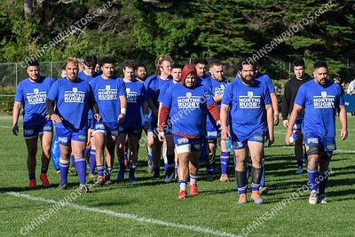 11 July 2020 Northern United v Hutt Old Boys Marist Wellington club rugby Jerry Collins Stadium at Porirua Park