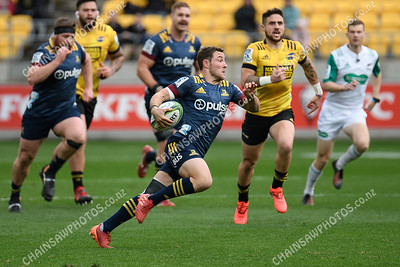 12 July 2020 Hurricanes v Highlanders Super Rugby Aotearoa Sky Stadium, Wellington