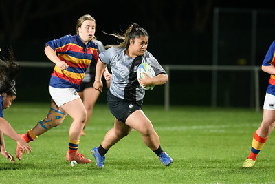 16 September 2020 St Mary's College v Tawa College. Wellington girls Premier rugby final