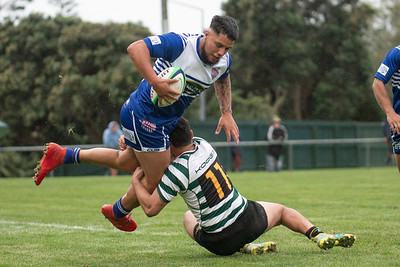 10 April 2021 Northern United (Norths ) v Old Boys University (OBU) Premier Wellington club rugby Jerry Collins Stadium, Porirua Park