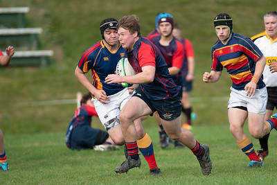 22 May 2021 Tawa College v Hutt International Boys (HIBS) Wellington school boys rugby union