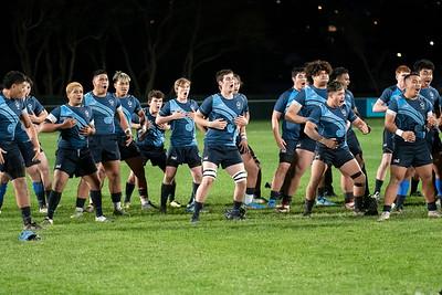 30 June 2021 Mana College versus Aotea College Wellington school boys rugby Beard Trophy