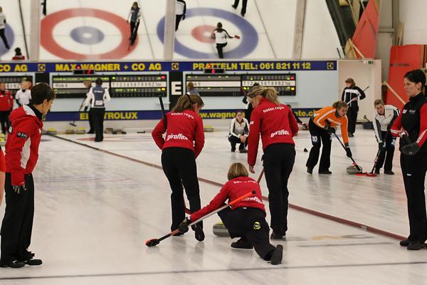 Sport Curling Swiss Curling League A Frauen